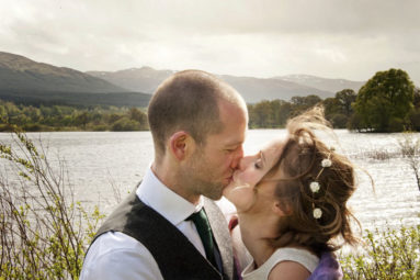 Kissing-Wedding-Couple