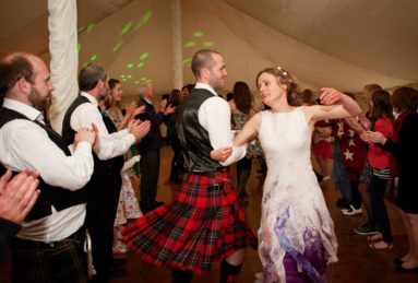 Bride-and-Groom-Dancing-Ceilidh